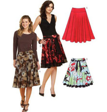 Sewing Pattern - Misses Pattern, Skirts Pattern, Kwik Sew #K3637