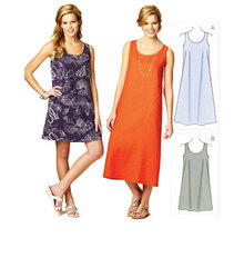 Sewing Pattern - Misses Pattern, Dresses Pattern, Kwik Sew