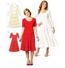 Sewing Pattern - Misses Pattern, Dresses Pattern, Kwik Sew #K3873