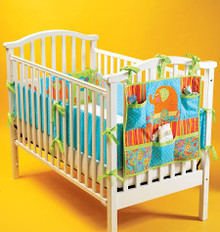Sewing Pattern - Baby Patterns, Crib Patterns, Bumper Pad Pattern & Organizer Pattern- Kwik Sew #K4034