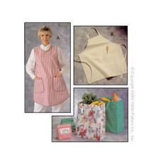 Sewing Pattern - Bags Pattern, Aprons Pattern, Bags Pattern, Kwik Sew #K2191