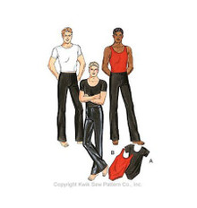 Sewing Pattern - Mens Pattern, Mens Dancewear, Mens Activewear - Kwik Sew #K3029
