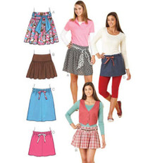Sewing Pattern - Misses Pattern, Skirts Pattern, Tops Pattern Kwik Sew K3242