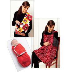 Sewing Pattern - Infant Pattern, Baby Pattern, Swaddler Pattern, Sling Pattern, Nursing Cover Pattern- Kwik Sew #K3734