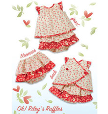 Sewing Pattern - Baby Pattern, Infant Pattern Sundress Pattern, Bloomers Pattern,- Kwik Sew #K3901
