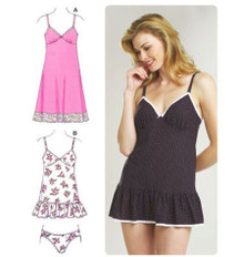 Sewing Pattern - Womens Pattern, Slip Pattern, Panty Pattern Two Views - Kwik Sew #K3554