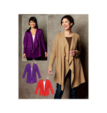 Sewing Pattern - Womens Pattern for Vest Pattern - Kwik Sew #K3721