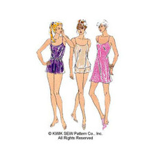 Sewing Pattern - Lingerie Camisole, Shorts and Chemise - Kwik Sew #K2589