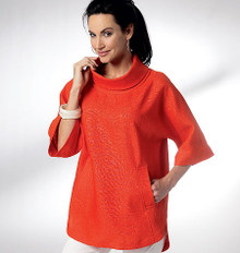 Sewing Pattern - Misses Pattern, Misses' Dolman Sleeve Dress & Top Pattern, Kwik Sew #K3928
