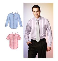 Sewing Pattern - Mens Pattern, Shirts Pattern, Kwik Sew #K3883
