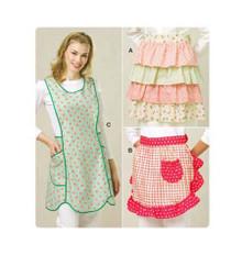Sewing Pattern - Aprons Pattern, Aprons Pattern, Kwik Sew #K3518