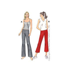 Sewing Pattern - Womens Sewing Pattern for Tops and Leggings Two Views - Kwik Sew #K3115