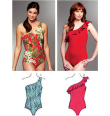 Sewing Pattern - Womens Pattern, Swimsuit Pattern, Two Views, - Kwik Sew #K3780