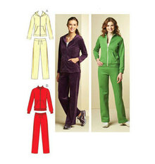 Sewing Pattern - Misses Pattern, Jackets Pattern, Pants Pattern, Kwik Sew #K3678