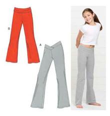 Sewing Pattern - Girls Pattern, Pants Pattern, Kwik Sew #K3498
