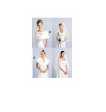 Sewing Pattern - Special Occasion Pattern, Veils Pattern, Wrap Pattern, Kwik Sew #K3405