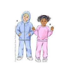 Sewing Pattern - Toddler Pattern, Shirt Pattern, Pants Pattern, Hoodie Pattern - #K3150