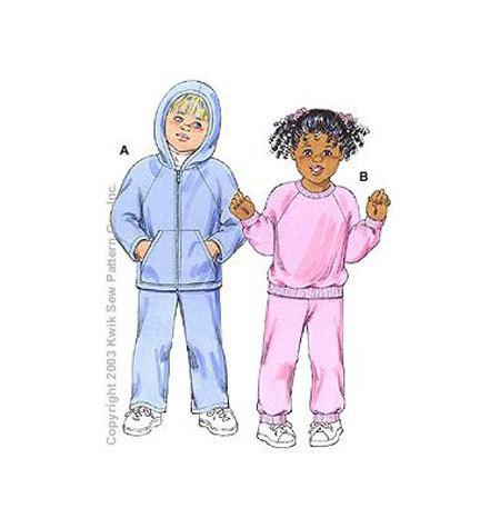 Sewing Pattern - Toddler Pattern, Shirt Pattern, Pants Pattern, Hoodie Pattern - #K3150