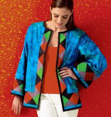 Sewing Pattern - Misses Pattern, Misses Jackets Pattern, Kwik Sew #K4004