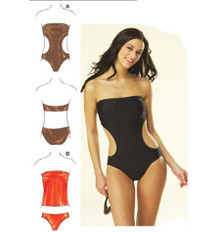Sewing Pattern - Womens Pattern, Swimsuit Pattern, Two Views, - Kwik Sew #K3608