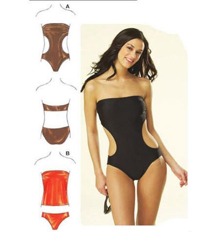 Sewing Pattern - Womens Pattern, Swimsuit Pattern, Two Views, - Kwik ...
