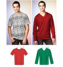 Sewing Pattern - Mens Pattern, Shirts Pattern, Kwik Sew #K3878