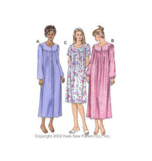 Sewing Pattern - Misses Pattern, Nightgowns Pattern, Kwik Sew #K3106