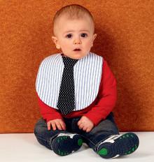 Sewing Pattern - Ellie Mae Designs, Infant Pattern, Baby Pattern, Bib Pattern in Four Views - #K0151
