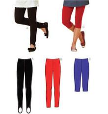 Sewing Pattern - Misses Pattern, Leggings Patterns, Kwik Sew #K3636