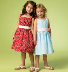 Sewing Pattern - Girls Dresses in Two Views Kwik Sew # K4038