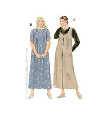 Sewing Pattern - Womens (Plus) Pattern, Jumpers Pattern, Shirts Pattern, Kwik Sew #K2836