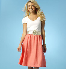 Sewing Pattern - Misses Skirts in Two Views Kwik Sew # K4042