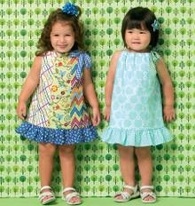 Sewing Pattern - Toddler Dresses in Two Views Pattern Kwik Sew # K0169