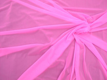 Glissenette Nylon Spandex Stretch Fabric - Matte Sheer Cameo Pink Item # MTE5649-CP
