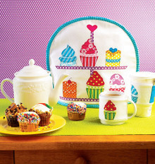 Sewing Pattern - Ellie Mae Designs Tea, Mug and Coffee Container Cozies, Kwik Sew # K0173