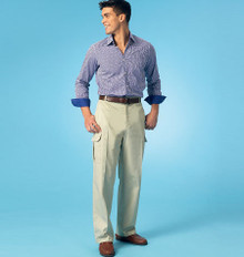 Sewing Pattern - Mens Dress Slacks and Dress Shorts Kwik Sew # K4045