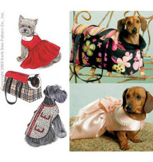 Sewing Pattern - Ellie Mae Designs, Pet Jacket Pattern, Kwik Sew #K3311