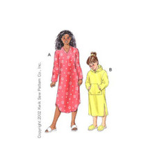 Sewing Pattern - Girls Pattern, Gowns Pattern, Kwik Sew #K3102