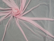 Glissenette Nylon Spandex Stretch Fabric - Matte Sheer Betsy Pink Item # MTE5550-BP
