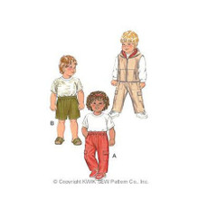 Sewing Pattern - Toddler Pattern, Children's Pattern, Cargo Pants Pattern, Shorts Pattern, Vest Pattern- Kwik Sew #K2858
