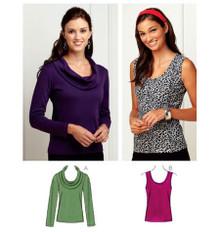 Sewing Pattern - Kwik Serge Pattern, Tops Pattern- Kwik Sew #K3740