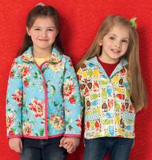 Sewing Pattern - Girls Pattern, Jacket Pattern, Hoodie Pattern Kwik Sew #K4012