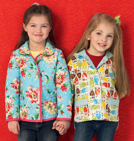 Sewing Pattern - Girls Pattern, Jacket Pattern, Hoodie Pattern Kwik Sew #K4012