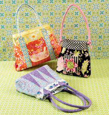 Sewing Pattern - Ellie Mae Designs Craft Pattern, Purse Pattern in Three Views Kwik Sew #K0142