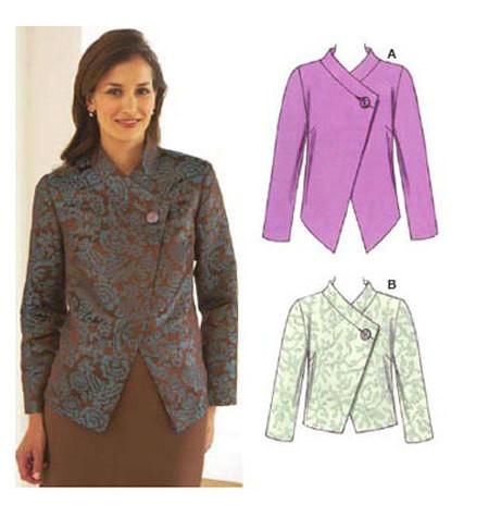 Sewing Pattern - Misses Pattern, Jacket Pattern, Kwik Sew #K3531