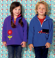 Sewing Pattern - Girls Pattern, Jacket Pattern, Hoodie Pattern Kwik Sew #K4025