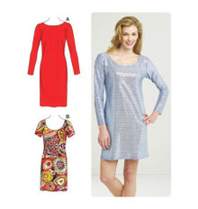 Sewing Pattern - Misses Pattern, Sheath Dress Pattern in Two Views #K3561