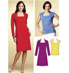 Sewing Pattern - Misses Pattern, A-Line Dress Pattern, Top Pattern Kwik Sew #K3756