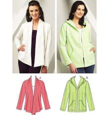Sewing Pattern - Misses Pattern, Cardigans Pattern, Kwik Sew #K3693