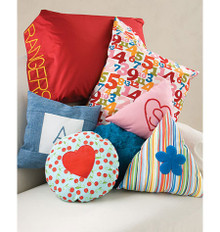 Sewing Pattern - Learn to Sew Pattern, Pillow Pattern, Pillow Case Pattern, Decorative Pillow Pattern - #K3525